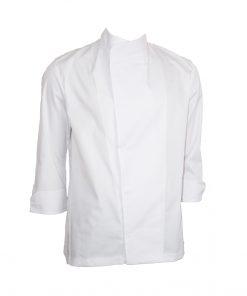 Tunică de bucătar albă din tercot